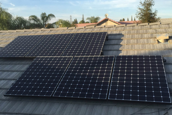 Completed Residential Solar Install